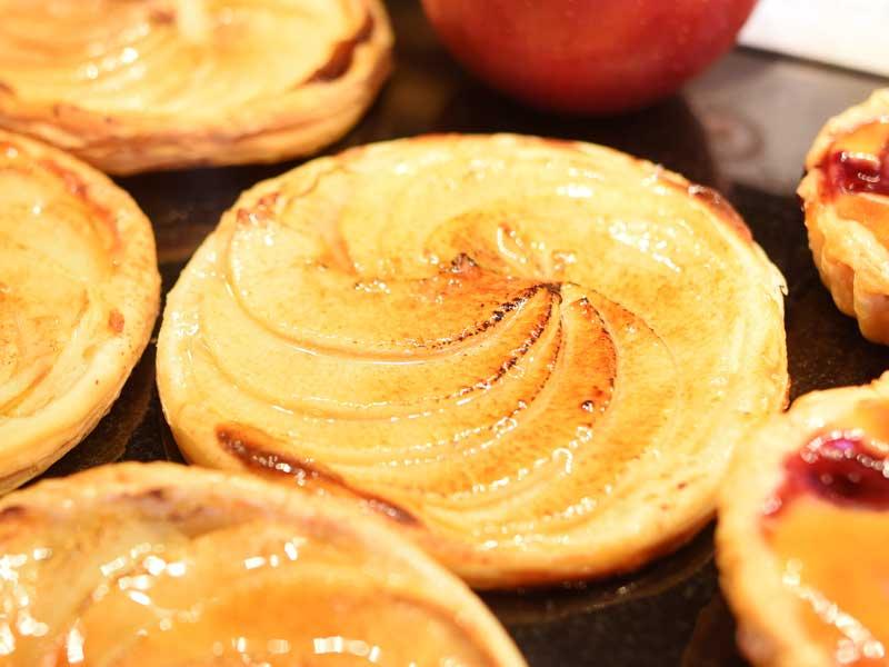 旬のりんごパイディスク・オ・ポンム