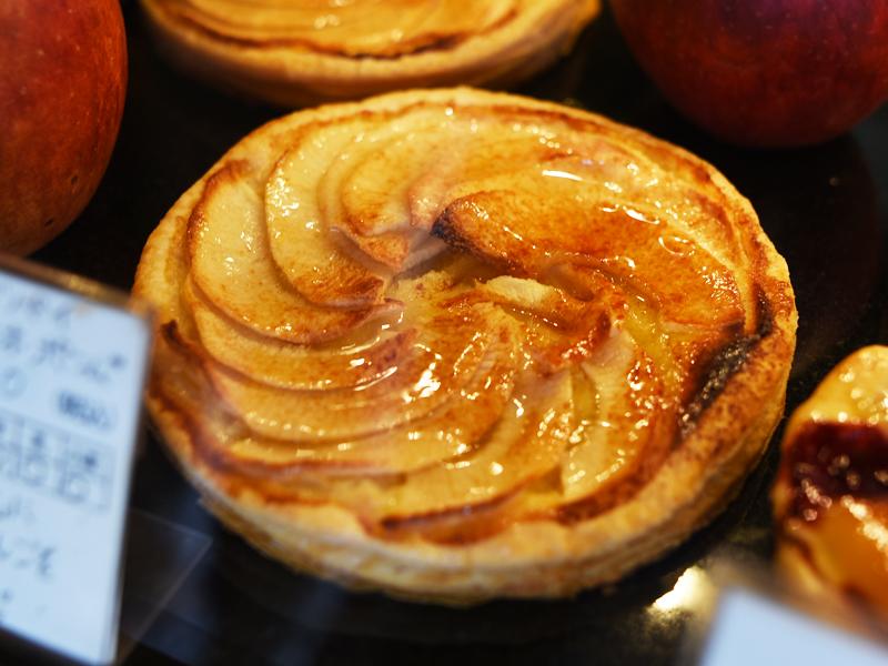 旬のリンゴパイディスク・オ・ポンム BOULANGER PATISSIER y'KUNIEDA (ワイクニエダ)は岐阜県大垣市にある 自家製天然酵母パンとケーキのお店です。