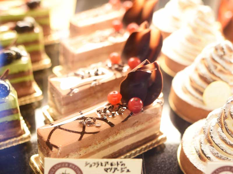 ショコラとアーモンドのマリアージュ BOULANGER PATISSIER y'KUNIEDA (ワイクニエダ)は岐阜県大垣市にある 自家製天然酵母パンとケーキのお店です。